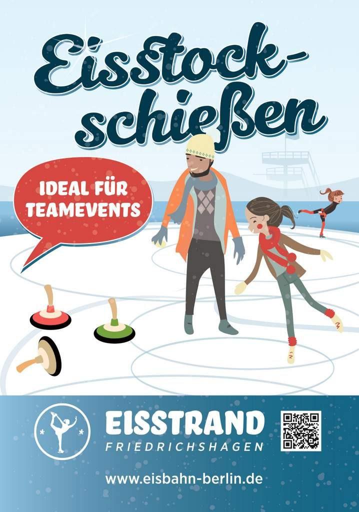 Eisstockschießen Berlin Weihnachtsfeier.Seebad Friedrichshagen Weihnachtsfeiern