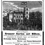 Anzeige um 1900