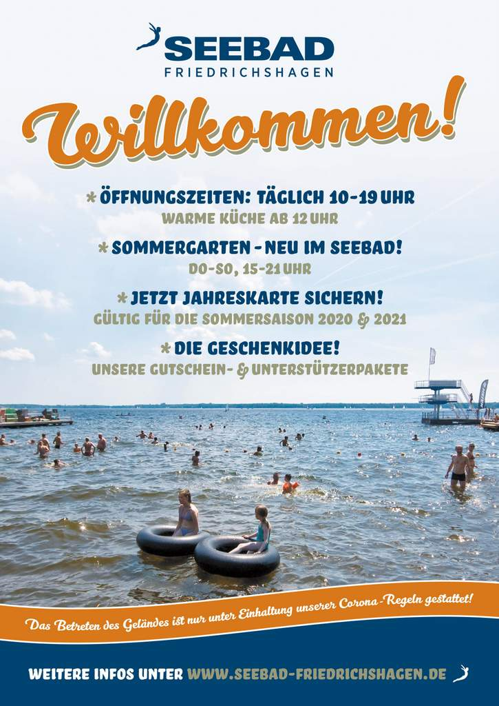 2020-05-27_Plakat Seebad Sommersaison mit Corona 2020